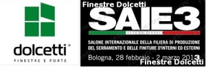 Finestre Dolcetti , SAIE3